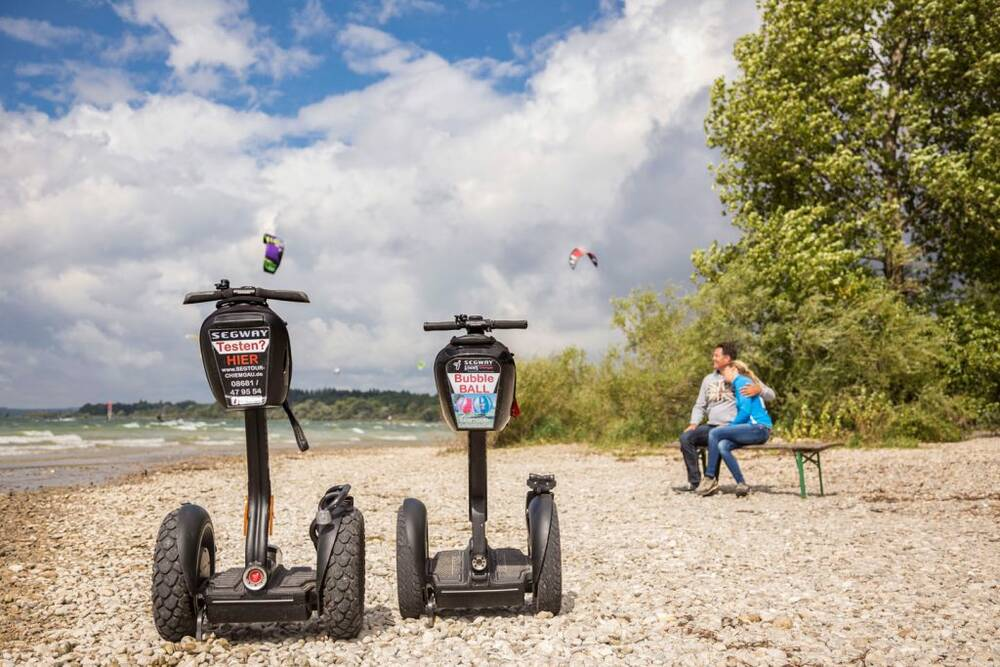 Segway Tour Plus - Chieming am Chiemsee - Funwerk Chiemgau Gutschein-Shop